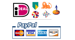 iDeal, Paypal, Creeditcard, PIN of Contant